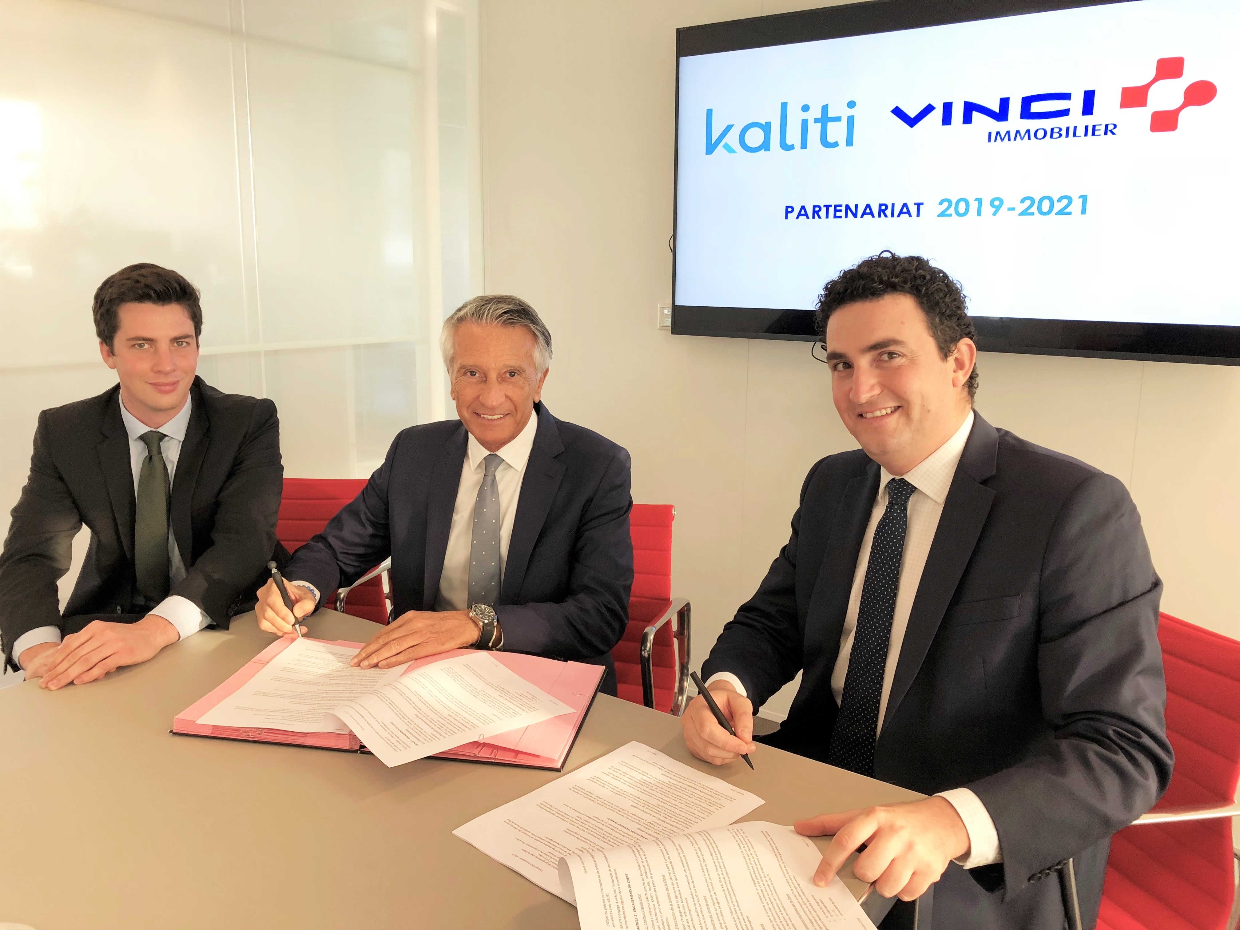 Signature Vinci Immobilier Kaliti
